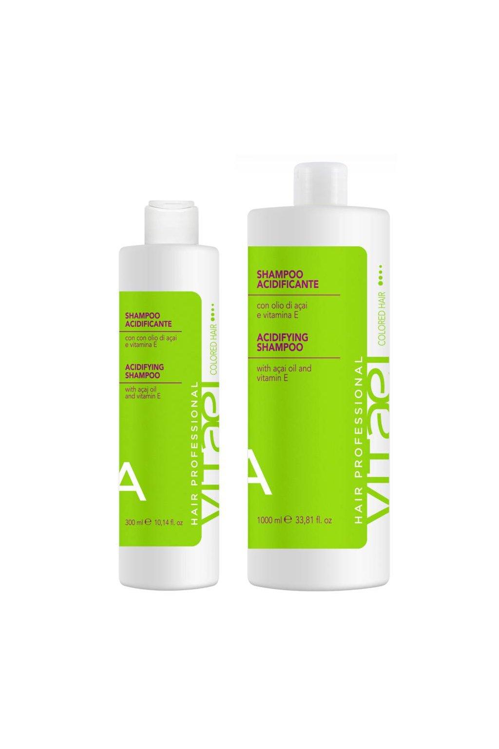 Vitael COLORED Šampon pro barvené vlasy, antioxidační kyselé pH