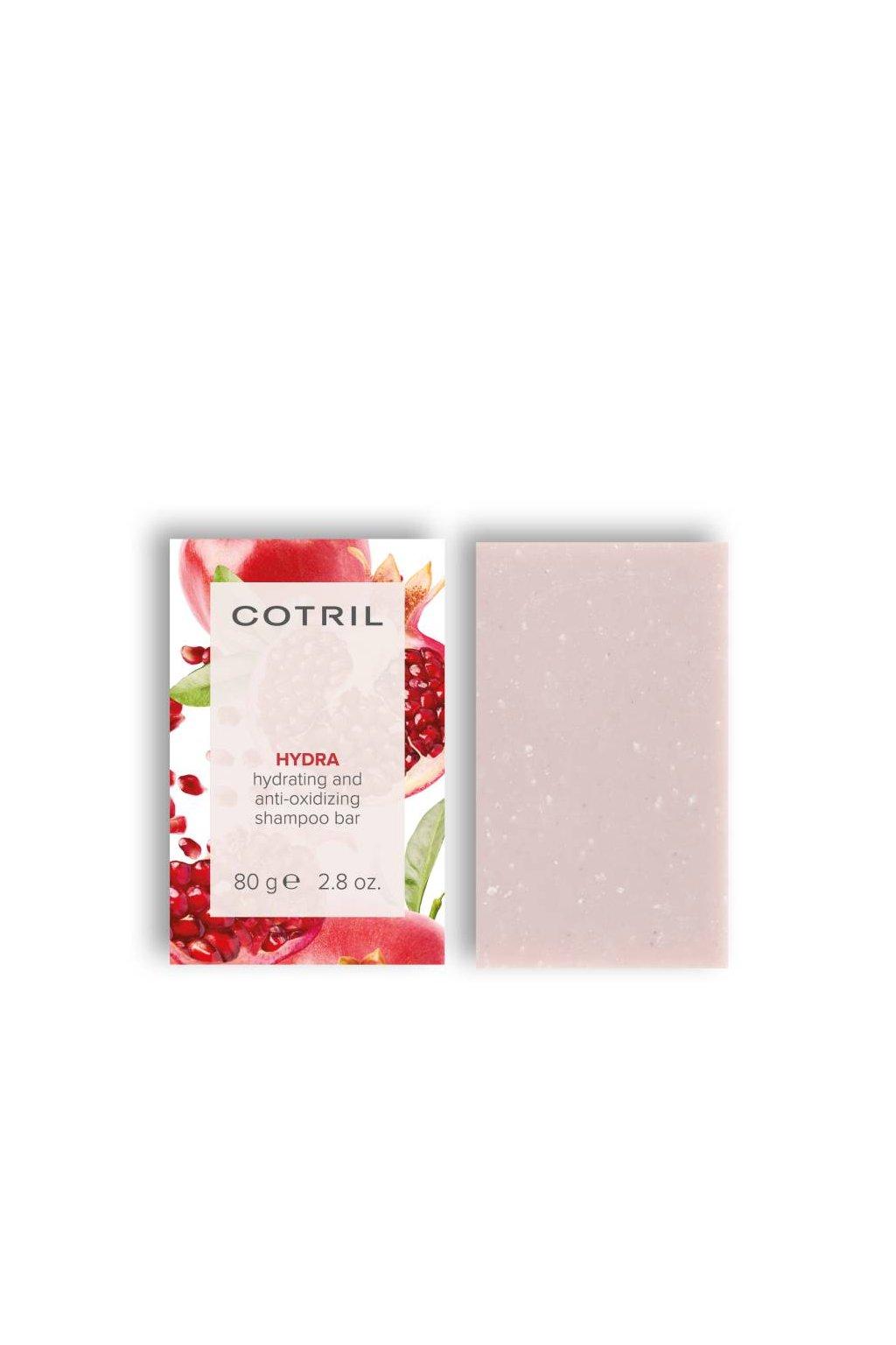 Cotril HYDRA Tuhý šampon hydratační a antioxidační pro suché vlasy 80g