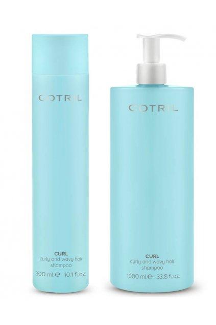 Cotril CURL Šampon pro vlnité a kudrnaté vlasy, proti krepatění (Obsah 300 ml)