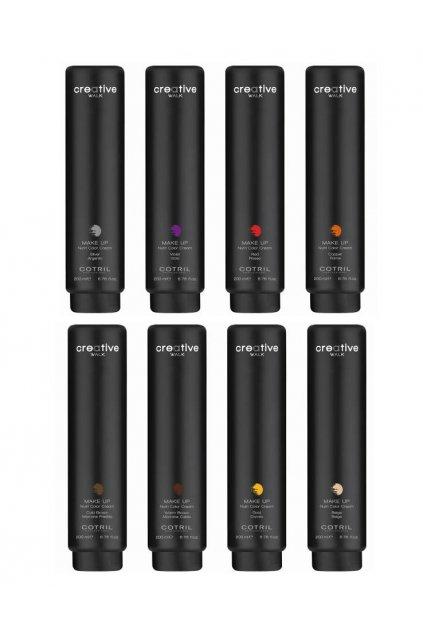 Cotril MAKE-UP Barvící krém pro tónovaní vlasů 200ml (Barva Zlatá)