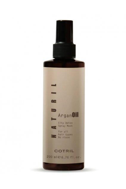 9308 cotril naturil argan city detox maska ve spreji bez oplachu pro vsechny typy vlasu 200ml