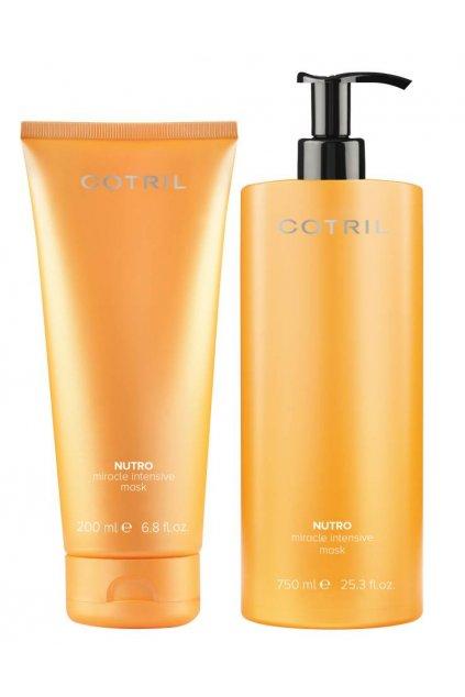 Cotril NUTRO MIRACLE Maska vyživující pro suché a dehydratované vlasy (Obsah 200 ml)