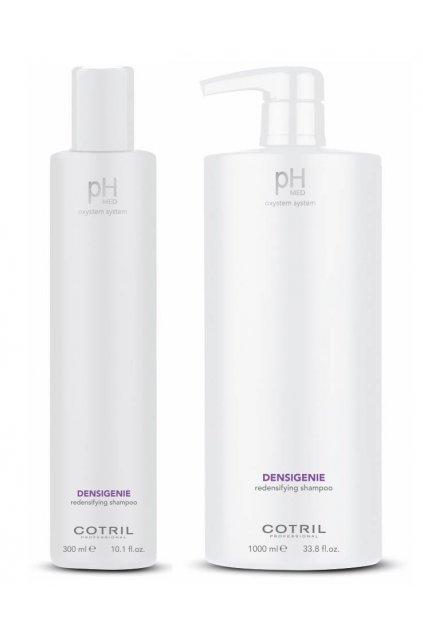 Cotril pH-MED Densigenie Šampon pro řídké vlasy, obnovuje hustotu (Obsah 300 ml)