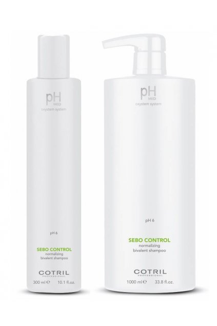 Cotril pH-MED Šampon pro mastnou pokožku a suché konečky vlasů (Obsah 300 ml)