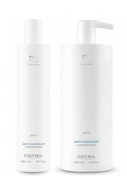 Cotril pH-MED Šampon proti lupům s piroctone olamine (Obsah 300 ml)