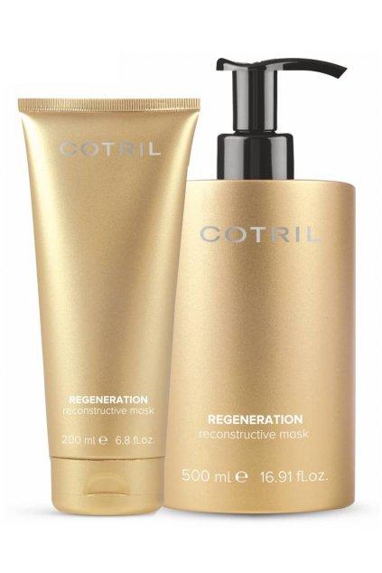 Cotril REGENERATION Maska revitalizační s kyselým pH uzavírá a vyhlazuje vlasy