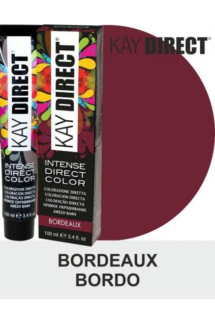 9437 kay direct barva na vlasy bordeaux bordo 100ml