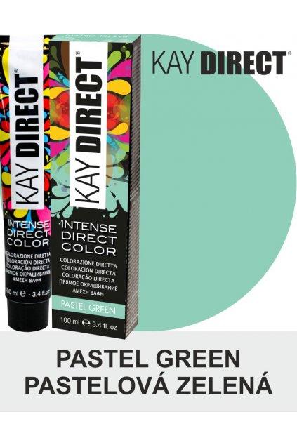 9458 kay direct barva na vlasy pastel green pastelova zelena 100ml