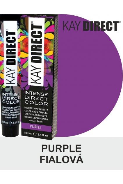 9467 kay direct barva na vlasy purple fialova 100ml