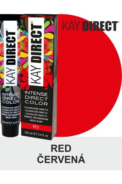 9470 kay direct barva na vlasy red cervena 100ml