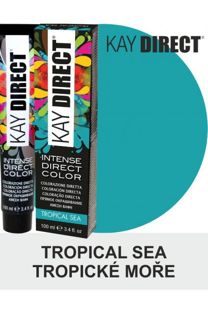 9476 kay direct barva na vlasy tropical sea tropicke more 100ml