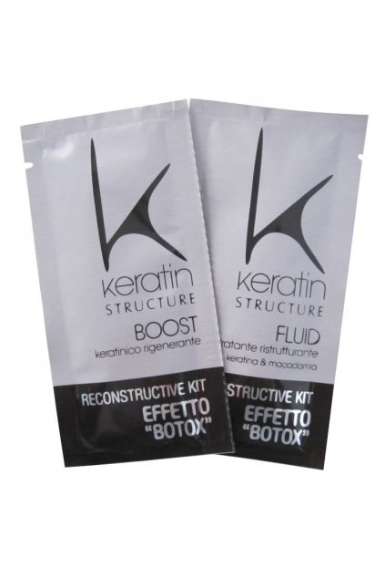 7205 keratin structure set pro rekonstrukci vlasu s botoxovym efektem 2x12ml