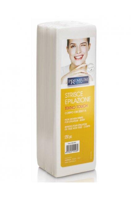 7964 kosmeticke epilacni pasky premium tekno touch 7x20cm 1bal 250ks
