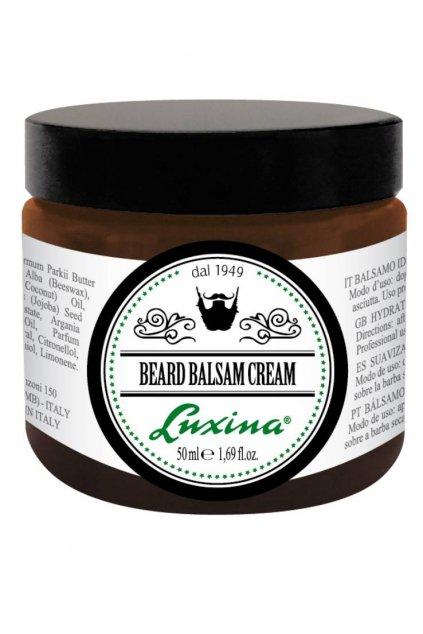 7475 luxina beard balsam cream kazdodenni stylova pece o vousy a knir bez oplachu 50ml