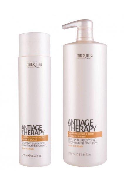 Maxima ANTIAGE Šampon revitalizační s keratinem, arganovým olejem pro všechny typů vlasů