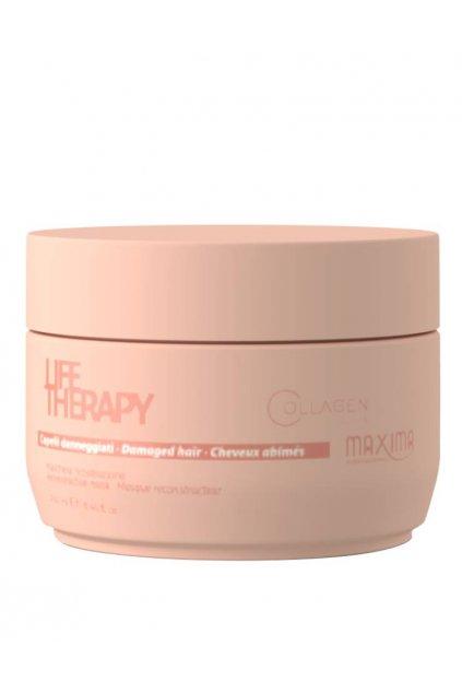 Maxima LIFE Maska obnovující s komplexem aminokyselin pro velmi poškozené vlasy
