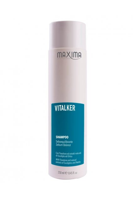 8924 maxima vitalker sampon pro mastnou pokozku s eukalyptem 250ml