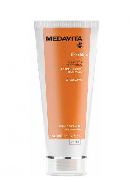 Medavita B-REFIBRE Maska hloubkově obnovující a posilující s Beta karoten (Obsah 150 ml)