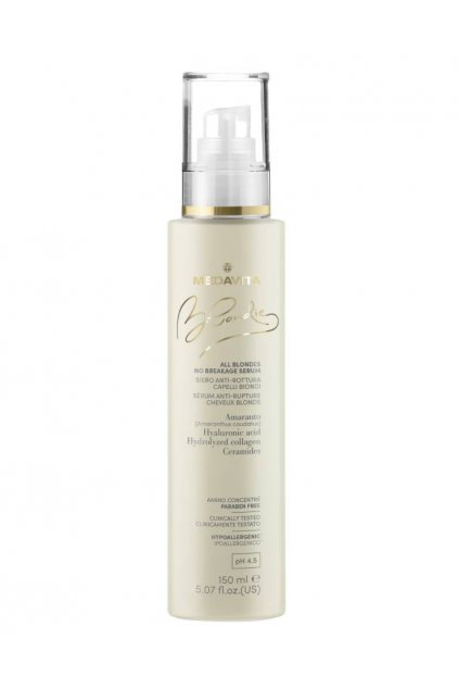 10832 medavita blondie all no breakage serum pro hydrataci objem a proti lamani vlasu 150ml