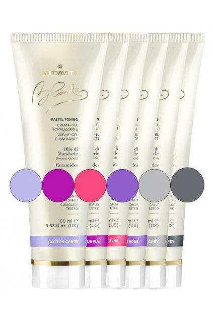Medavita BLONDIE Barva Pastel Toning polo-permanentní přímé pigmenty 100ml (Barva Neutro)