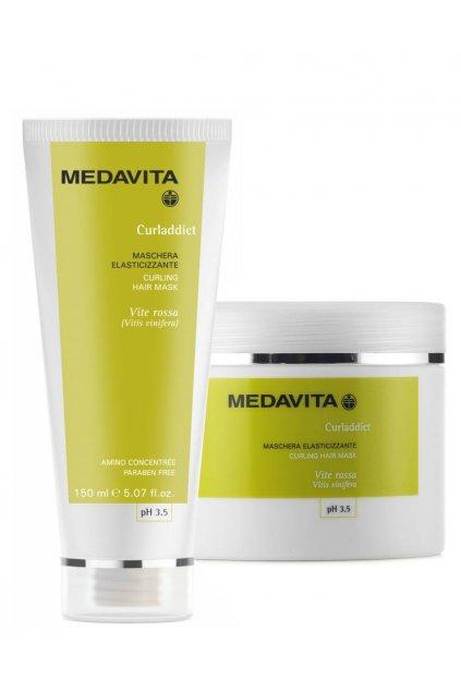 Medavita CURLADDICT Maska pro kudrnaté a husté vlasy s výtažky vinné révy (Obsah 500 ml)