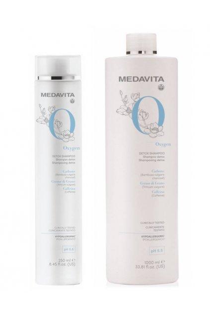 Medavita DETOX Šampon detoxikační, revitalizační, pro buněčnou obnovu a okysličení pokožky