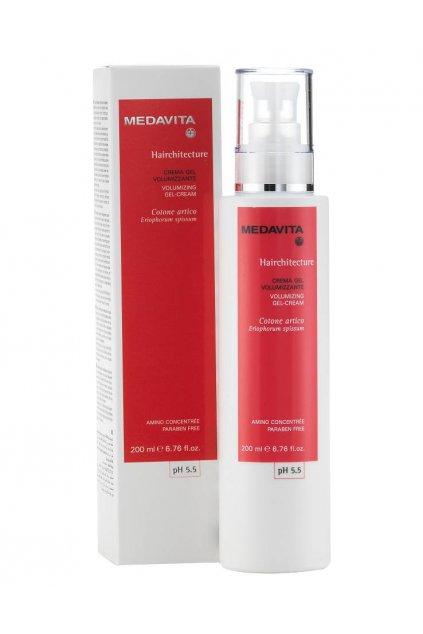 6596 medavita hairchitecture krem gel pro objem a ochranu s ceramidy 200ml