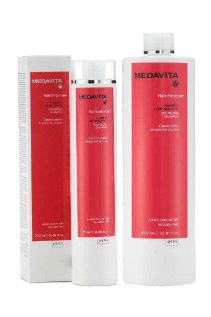 Medavita HAIRCHITECTURE Šampon pro objem s ceramidy (Obsah 250 ml)