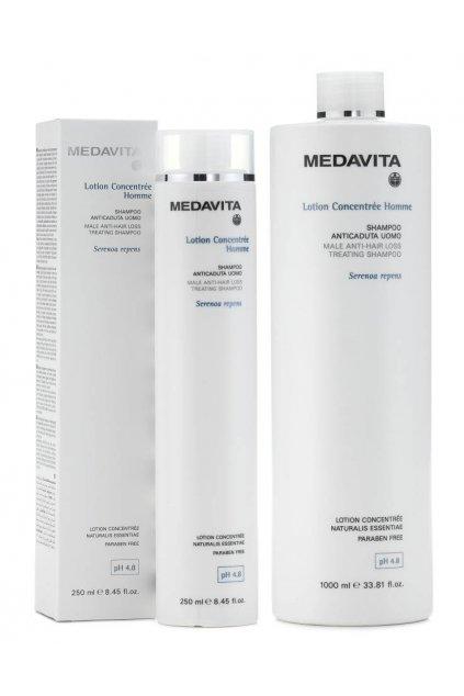 Medavita LC-HOMME Šampon proti padání pro muže pro časté mytí (Obsah 250 ml)