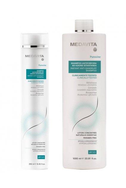 Medavita PUROXINE INSTANT Šampon proti lupům s Piroctone Olamine (Obsah 250 ml)