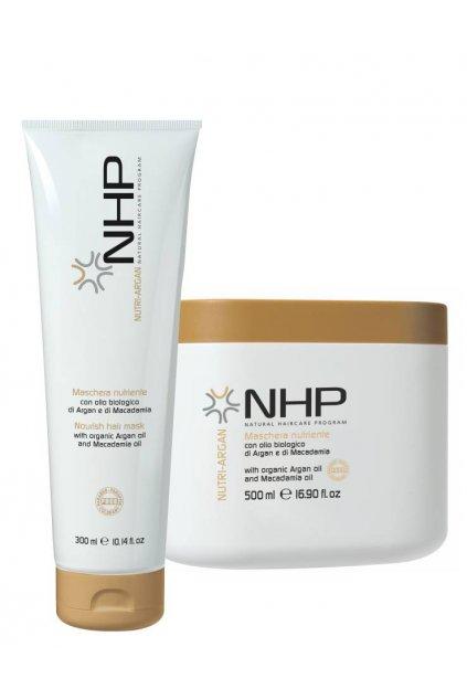 NHP NUTRIENTE Maska hloubkově vyživující s arganem (Obsah 250 ml)