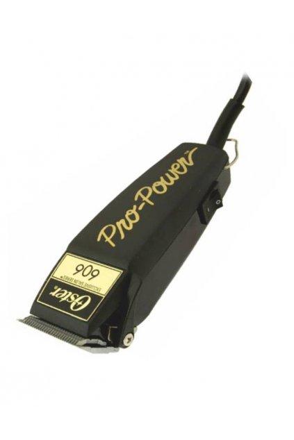 5117 profesionalni strojek na vlasy strihaci oster 606 95 deluxe pro power s nastavitelnou hlavici