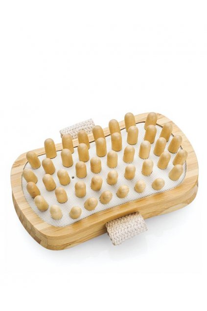 7925 spa beauty masazni kartac do ruky dreveny obdelnik kulate masazni trny proti celulitide