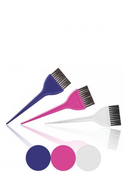 Štětec na barvení vlasů Tekno2 š.5,5cm (Barva Modrá)