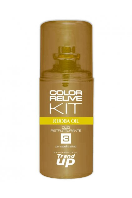 7673 trend up color relive kit fluid pro obnovu lesk a vitalitu s jojobovym olejem 80ml