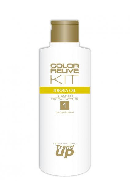 7679 trend up color relive kit sampon pro obnovu lesk a vitalitu s jojobovym olejem 300ml