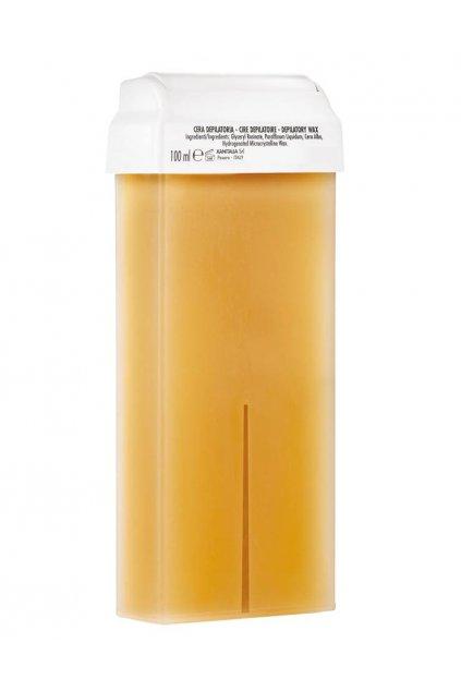 Xanitalia Epilační vosk MED přírodní s rostlinnými oleji, s Roll-on hlavicí nebo větší balení (Obsah 100 ml)