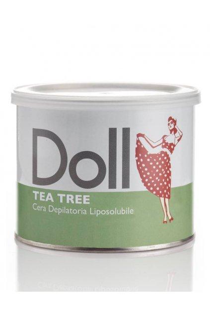 Xanitalia Epilační vosk TEA TREE s rostlinnými oleji, s Roll-on hlavicí nebo větší balení (Obsah 100 ml)