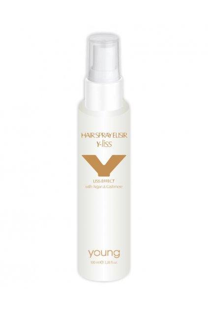 7682 young y liss elixir ve spreji pro dokonale hladke vlasy argan a kasmir 100ml