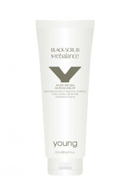 8966 young y rebalance maska proti lupum a pro normalizaci pokozky pred samponem 250ml