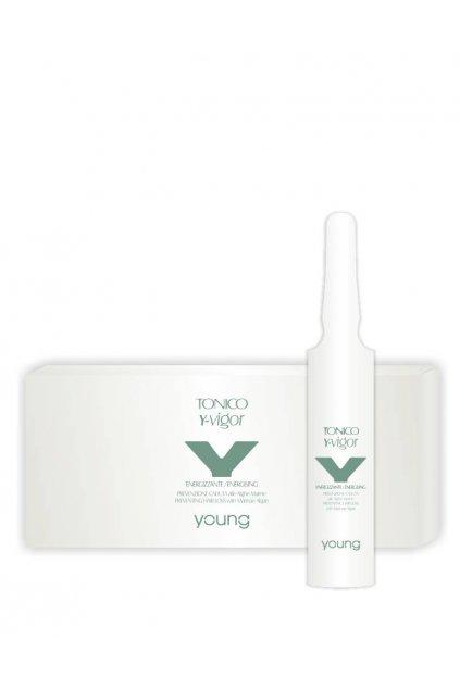 9206 young y vigor ampule proti padani vlasu s morskymi rasami 12x10ml
