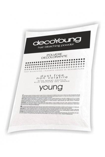 Young DecoYoung Melír BÍLÝ prášek, sáček bez krabice 500g