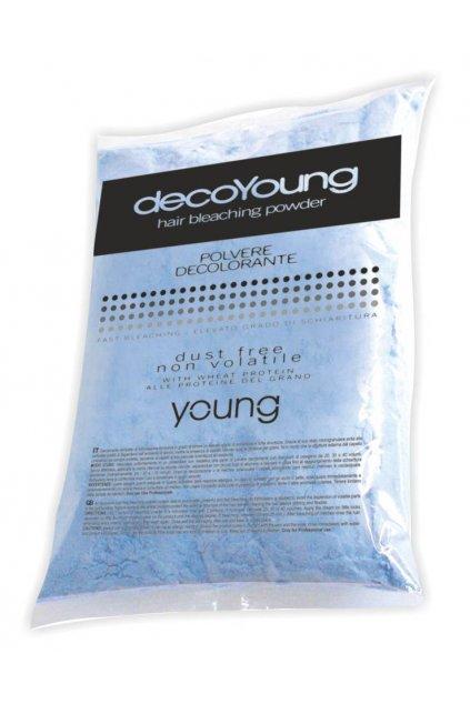 Young DecoYoung Melír MODRÝ prášek, sáček bez krabice 500g