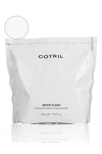 Cotril WHITE FLASH Melír BÍLÝ pro techniky aplikace volné ruky, zesvětlení 7 tónů 450g