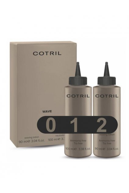 Cotril WAVE KIT Objemová trvalá ondulace bez amoniaku SET 90+100ml