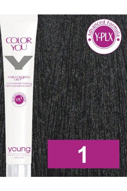 1 yo barva
