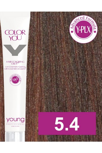 5 4 yo barva