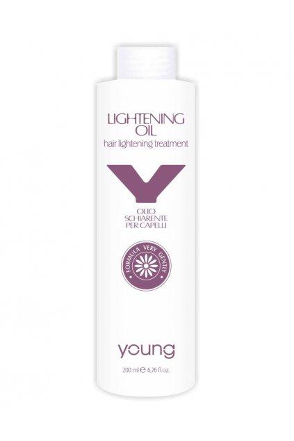 Young Lightening Oil zesvětlovací olej pro zesvětlení o 1,5 - 2 tóny 200ml