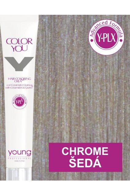 Young Y-PLX Barva Chrome Metallic Grey šedá
