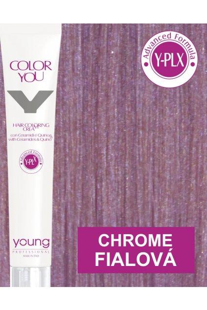 Young Y-PLX Barva Chrome Metallic Purple fialová